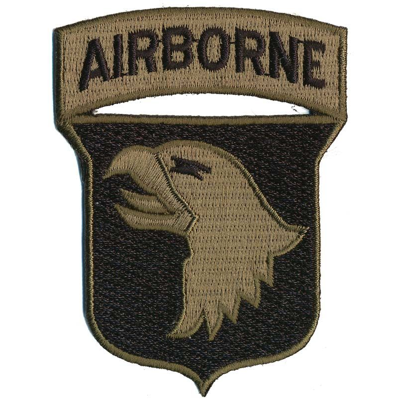 Patch, US 101st Airborne Div. ''Screaming Eagles'', Woodland