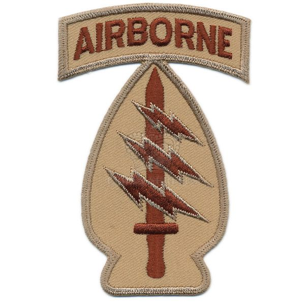 Patch, Special Forces Arrowhead, Airborne, ''Green Berets'', Arid