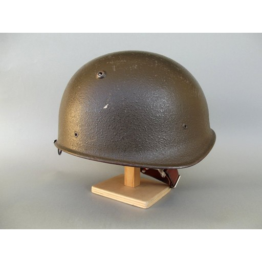 GENUINE SURPLUS Helmet - M-71 - Swiss - w/ Camo Cover