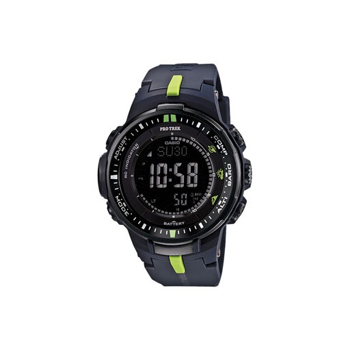 G-Shock Stay on step ahead of Mother Nature with the Solar Powered PRW3000, incorporating Casio's new Triple Sensor Version 3 engine. Advanced CASIO original technology has allowed for a 95% smaller direction sensor and 90% reduction in sensor power consumption c