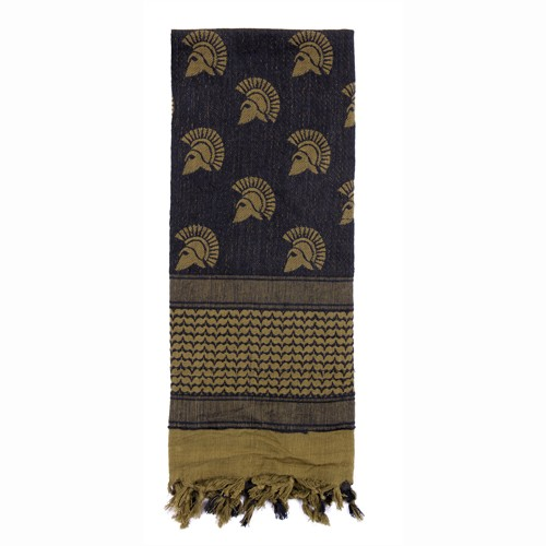 ROTHCO Shemagh, Tactical Desert Scarf, Spartan, Olive Drab