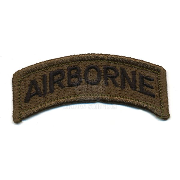 Patch, Airborne Tab, Olive