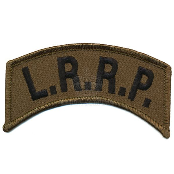 Patch, LRRP Tab, Olive