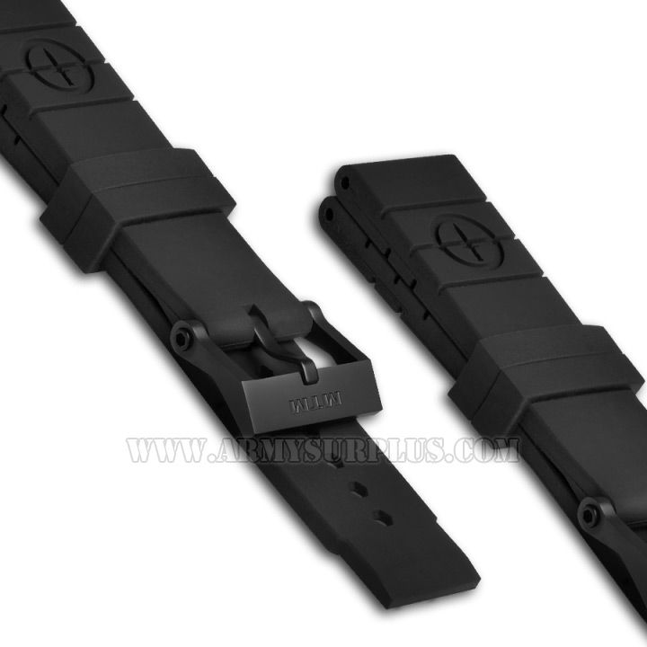 MTM, Replacement Watch Straps, Rubber Type II