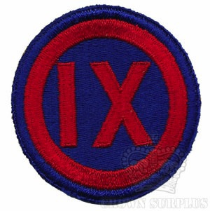 Patch - US IX Corps [9th Corps]