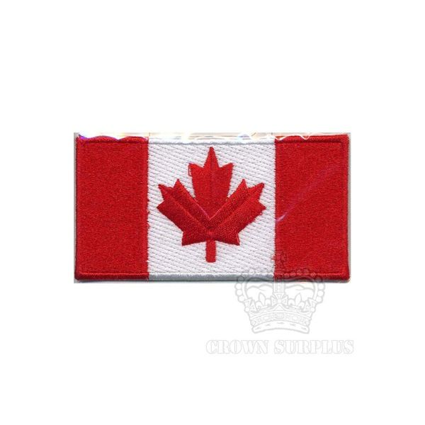 GENUINE SURPLUS Canadian Flag Patch, S
