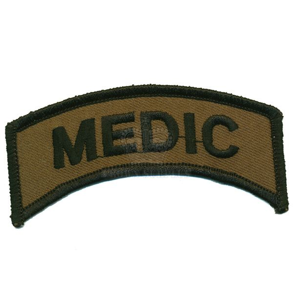 Patch, Medic Tab, Olive