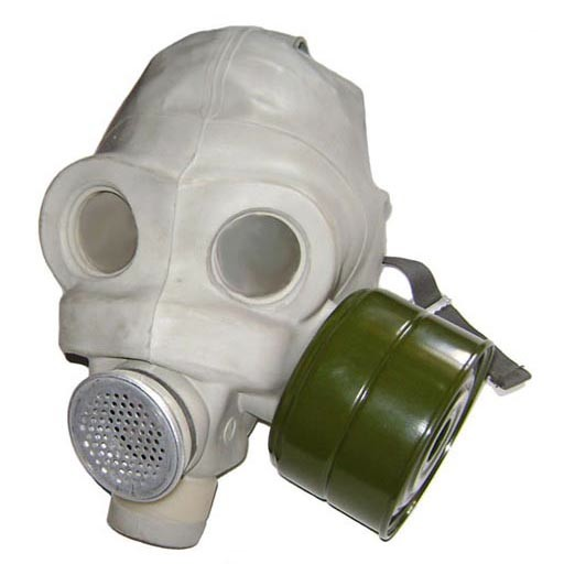 GENUINE SURPLUS Gas Mask, PMG, Military, Russian