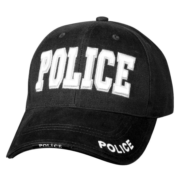 ROTHCO Rothco, Deluxe Police Low Profile Cap