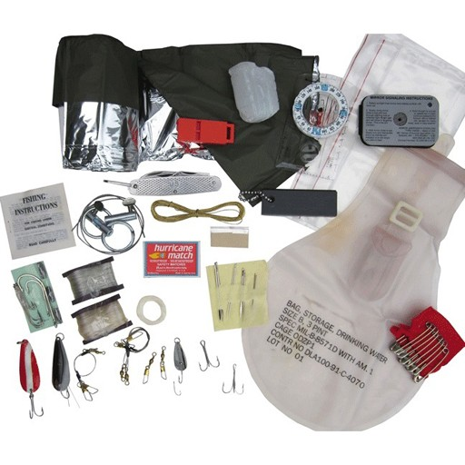 GENUINE SURPLUS US Issue, Survival Kit, New
