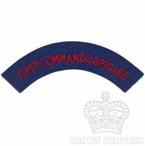 Patch - UK 1st Commando Brigade