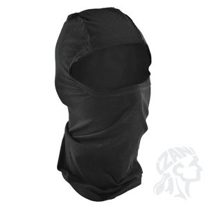 ZAN ZAN Headgear, Bamboo and Cotton Balaclava, Black