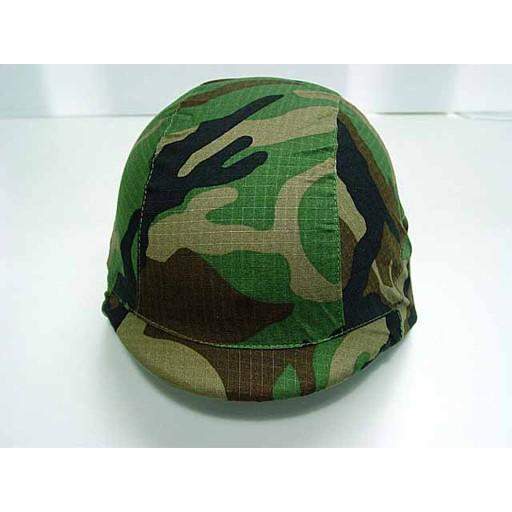 GENUINE SURPLUS Cover, Helmet, M-1, Woodland, Late Vietnam Era