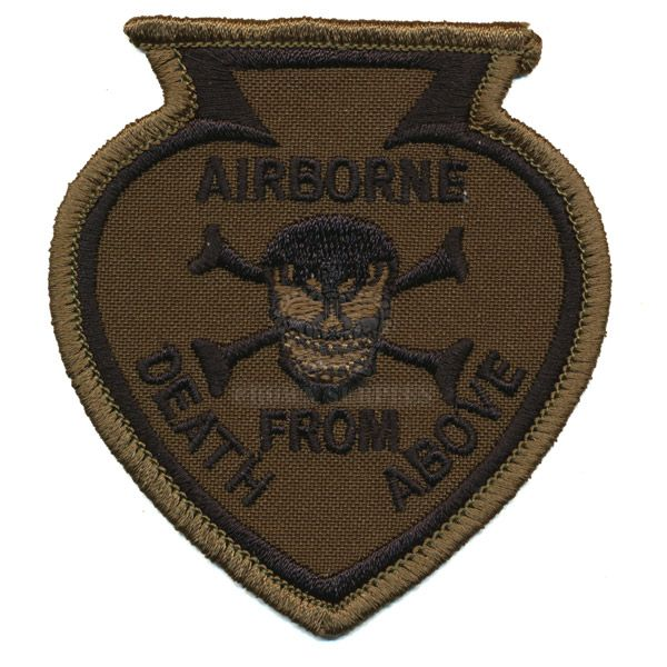 Patch, Airborne, Death from Above, Woodland
