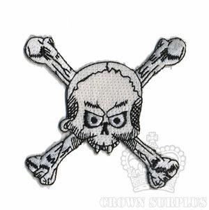 Patch, Skull & Crossbones
