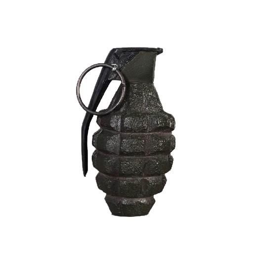 Mk 2 Grenade (Pineapple), Resin, Dummy