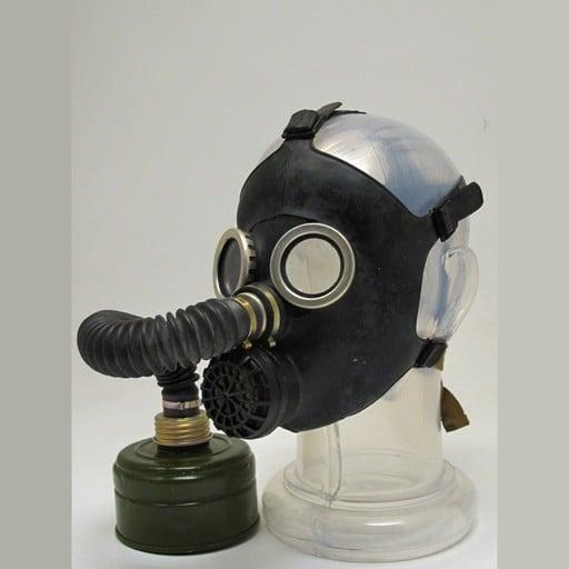 GENUINE SURPLUS Gas Mask - Russian Childern Type 2 - Black - New Issue