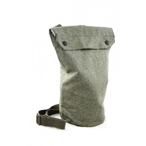 GENUINE SURPLUS Swiss Salt & Pepper Gas Mask Bag