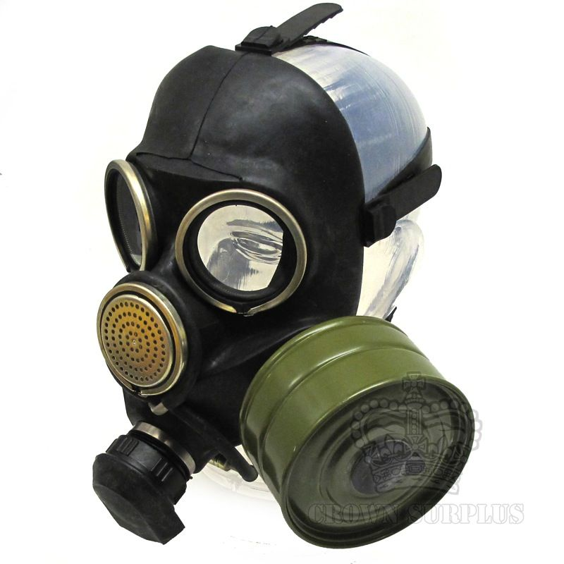 GENUINE SURPLUS Gas Mask, GP-7, Military, Russian [Complete]