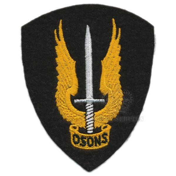 Special Service Force ''OSONS'' Patch Black
