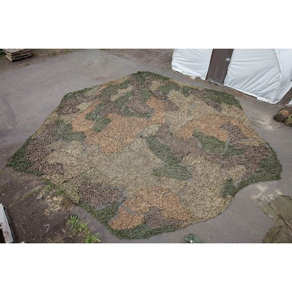 GENUINE SURPLUS Netting, Camouflage, Hexagonal Shaped Panel