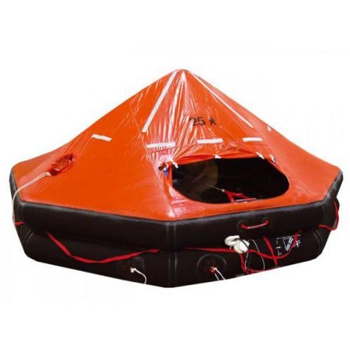 GENUINE SURPLUS Life Raft - 25 Man - RAFT ONLY