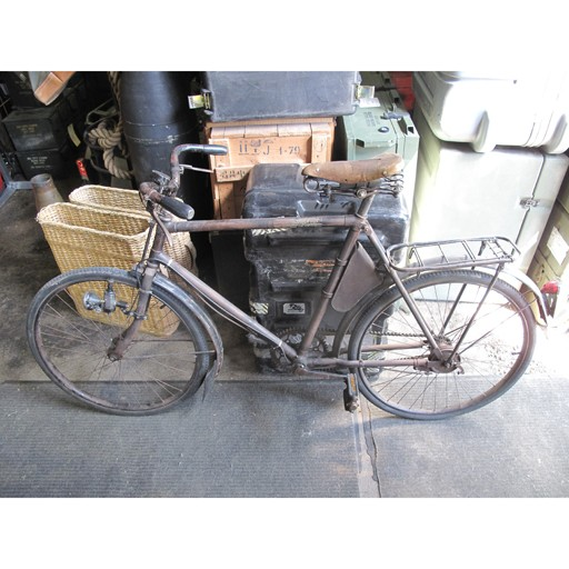 GENUINE SURPLUS Bicycle, Swiss MO-05, Serial 30949, 1945 Dated