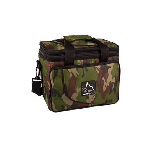 Icebergs, Camo Flat Top Cooler Bag
