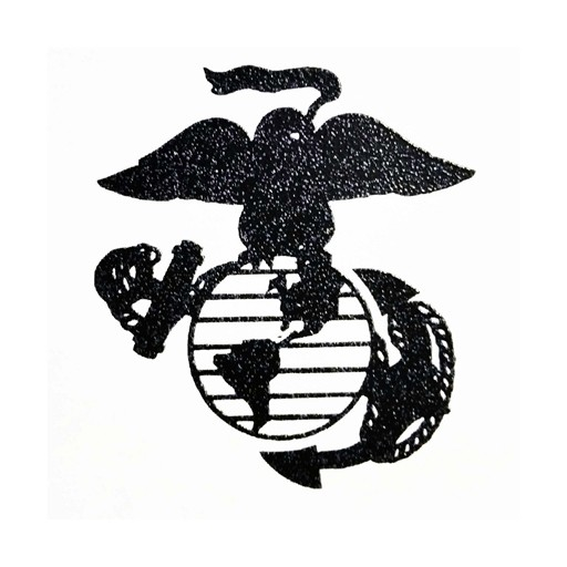 GENUINE SURPLUS Genuine Surplus, USMC EGA Logo, Heat Transfer