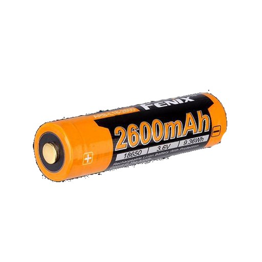 FENIX Fenix, 18650 Battery ARB-L18. 2600mAh, Button top