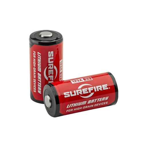 SUREFIRE SureFire, CR123A Lithium Batteries