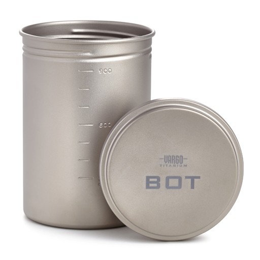 VARGO Vargo Outdoor Gear, Titanium BOT, Bottle Pot
