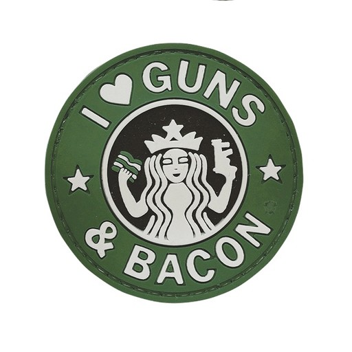 FIVE STAR GEAR Five Star Gear, Morale Patch, Guns & Bacon