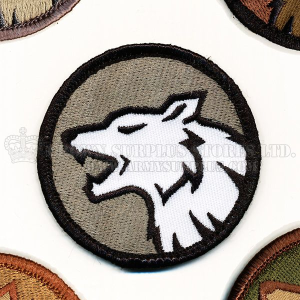 MIL-SPEC MONKEY Mil-Spec Monkey, Wolf Head Patch
