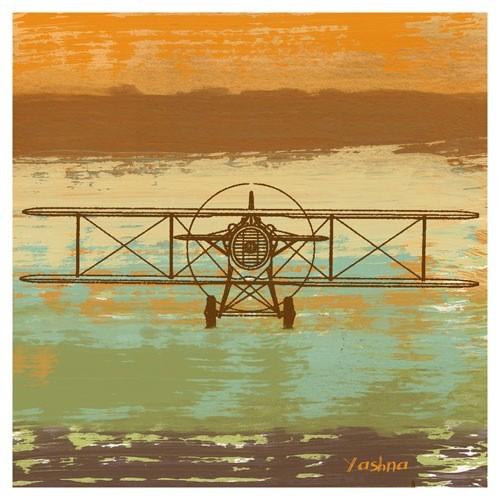 Poster - Biplane II - Giclee Print on Photo Paper -