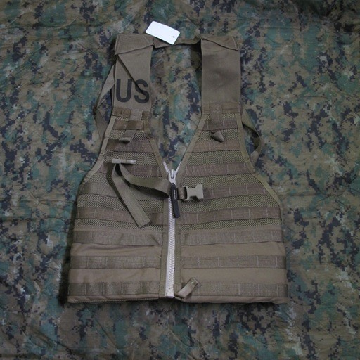 GENUINE SURPLUS Vest, FLC w/ zipper, US Issue