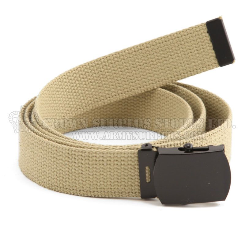 ROTHCO Military Web Belt, Khaki