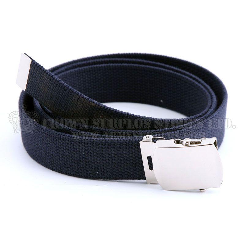 ROTHCO Military Web Belt, Navy