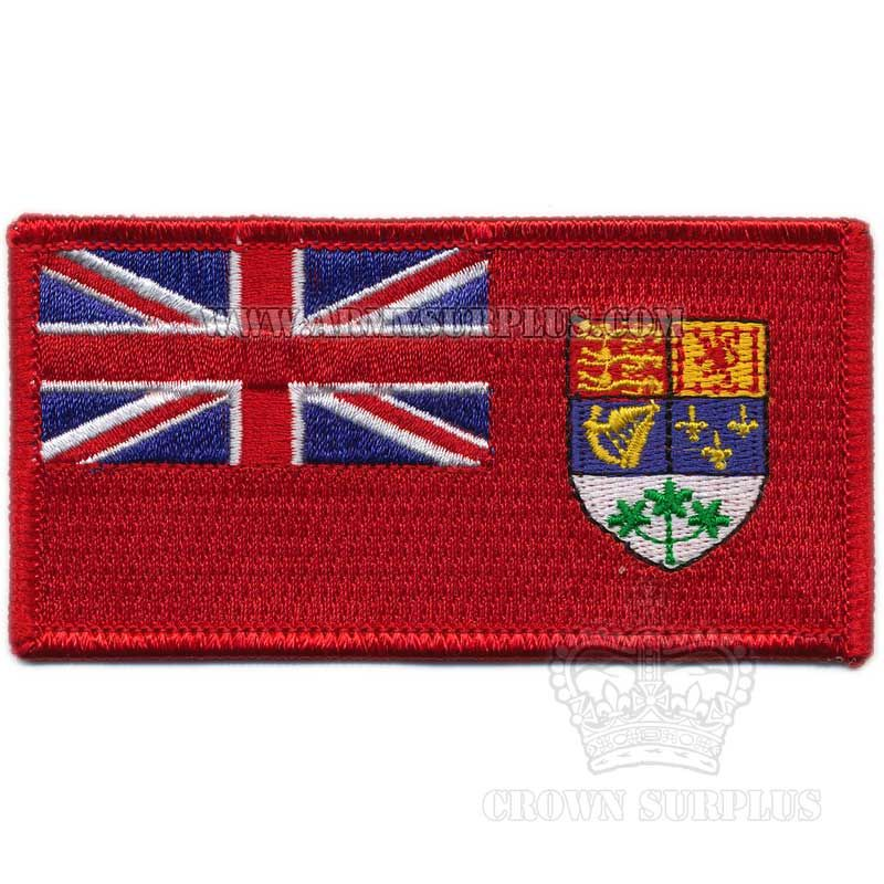 Patch, Canadian Flag, Red Ensign circa 1921-1957, Iron on