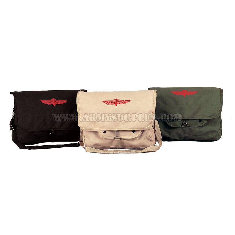 ROTHCO Rothco, Canvas Israeli Paratrooper Bag