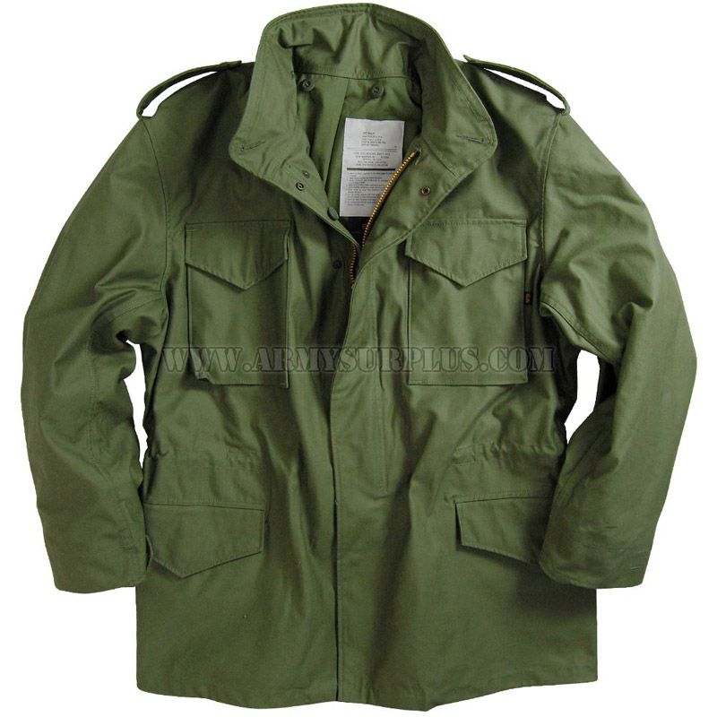 ALPHA INDUSTRIES INC. Alpha Industries, M-65 Field Coat