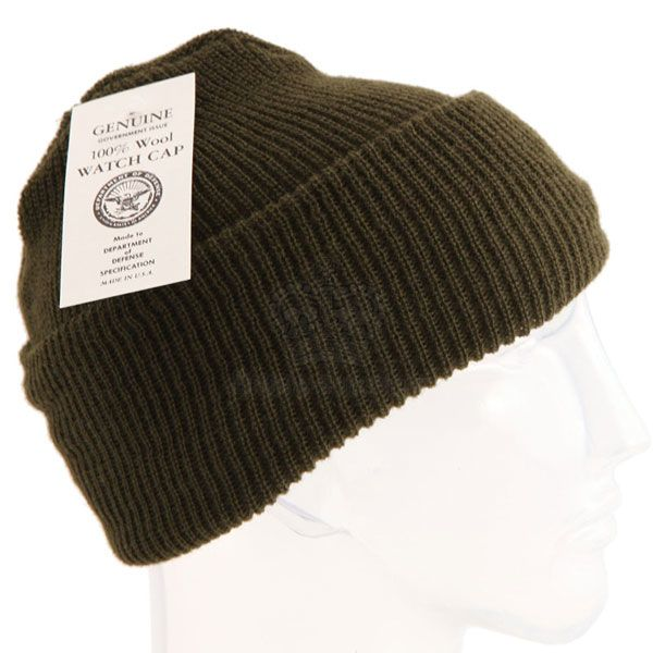 GENUINE SURPLUS Cap - Knit - Watch - Wool - US Issue