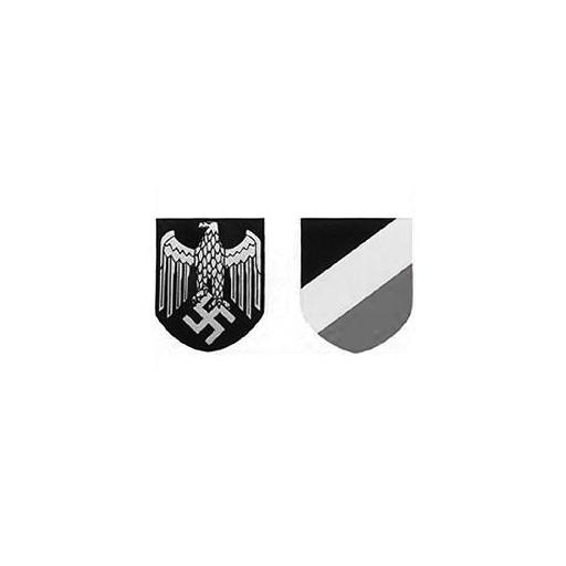 World Wide Militaria, Reproduction WWII German Helmet Decals