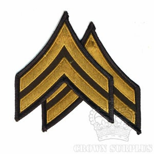 Patch, US Army Ranks