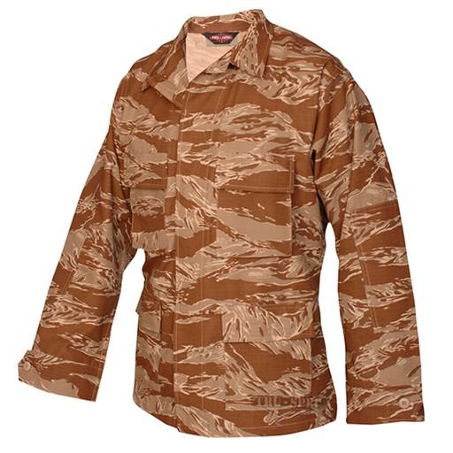 TRU-SPEC TRU-SPEC, Classic BDU Coat, Original Desert Tiger Stripe