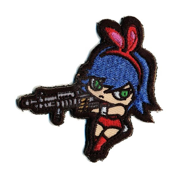 MIL-SPEC MONKEY Mil-Spec Monkey, Bunny Girl Patch