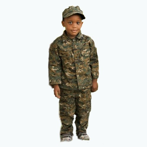 TROOPER CLOTHING Trooper Clothing, Kids, USMC, 3-Piece Set, Jacket-Pant-Cap, Woodland Marpat