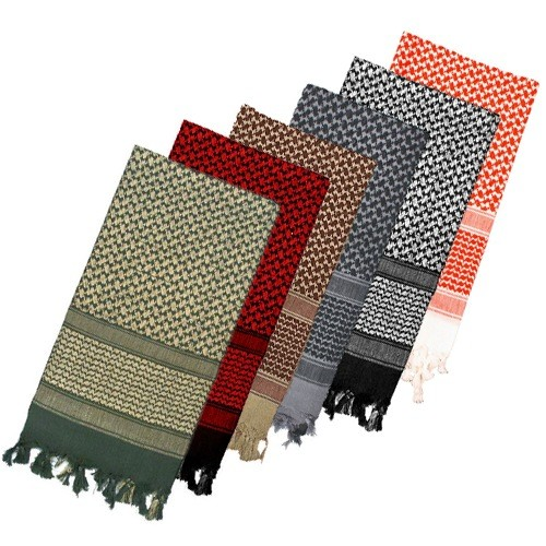 ROTHCO Shemagh - Cotton Scarf, 2-Tone