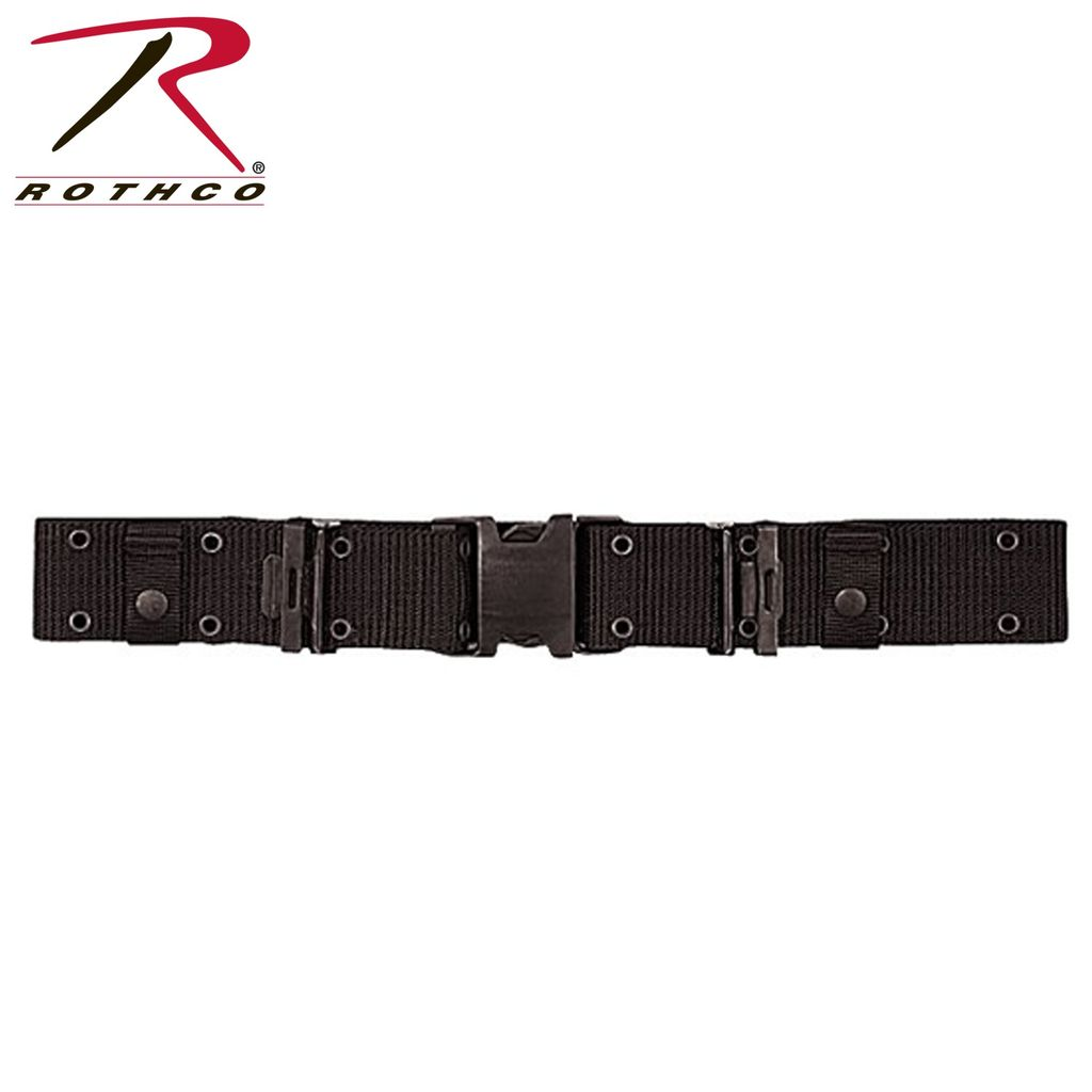 ROTHCO Rothco, New Issue Marine Corps (USMC) Style Quick Release Pistol Belt, Black