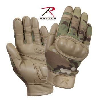 ROTHCO Rothco, Flame and Heat Resistant Hard Knuckle Gloves